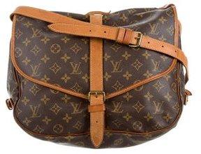 Louis Vuitton Monogram Saumur 35 Bag