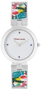 Christian Lacroix Women's Caribe Bangle Watch, 30mm