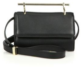 M2Malletier Mini Fabricca Leather Shoulder Bag