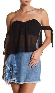 Dee Elly Off-the-Shoulder Blouse
