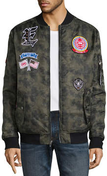 Ecko Unlimited Unltd Satin Bomber Jacket