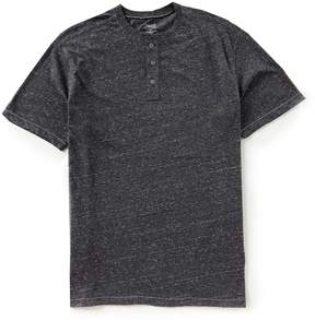Roundtree & Yorke Casuals Big and Tall Short Sleeve Solid Henley