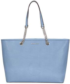 Michael Kors Jet Set Saffiano Leather Tote - Denim - ONE COLOR - STYLE