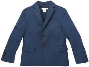 Marie Chantal Boys Cotton Suit Jacket - Navy