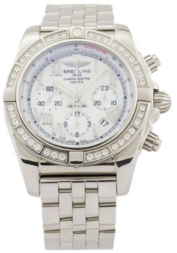 Breitling Chronomat 44 Stainless Steel & Diamond 44mm Watch