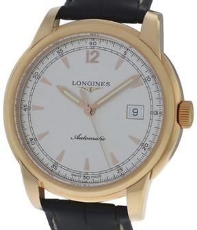 Longines Saint-Imier L27668793 18K Rose Gold Automatic 41mm Mens Watch
