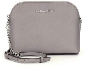 MICHAEL Michael Kors Cindy Large Dome Cross-Body Bag - PEARL GREY - STYLE