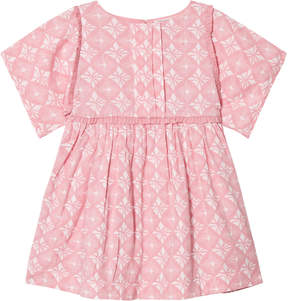 Mini A Ture Noa Noa Miniature Blush Diamond Print Knee Length Dress