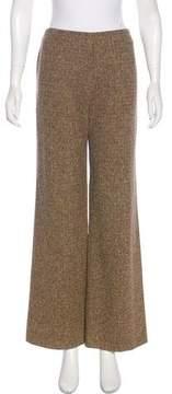 Christian Lacroix Wide-Leg Wool Pants