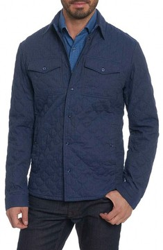 Robert Graham Men's Lance Quilted Shirt Jacket