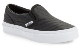 Vans Toddler 'Classic' Slip-On Sneaker