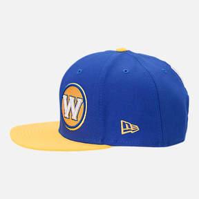 New Era Golden State Warriors NBA Y2K Double Whammy 9FIFTY Snapback Hat