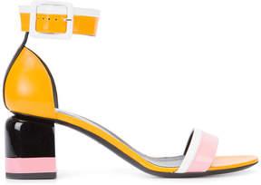 Pierre Hardy colour block sandals
