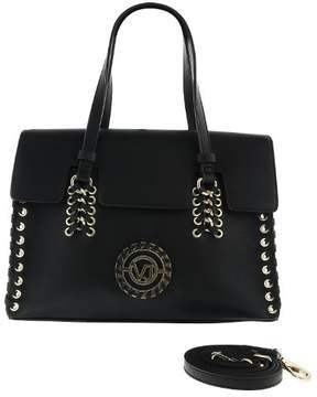 Versace EE1VRBBI6 Black Shoulder Bag W/ detachable strap