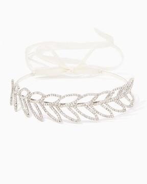 Charming charlie Oval Leaf Rhine Headband