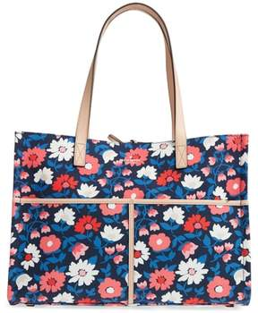 Kate Spade Washington Square - Mega Sam Canvas Tote - BLUE - STYLE