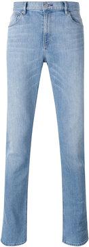 Michael Kors washed slim fit jeans