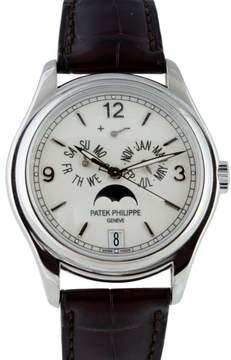 Patek Philippe 5146G 18K White Gold Annual Calendar Automatic Mens Watch