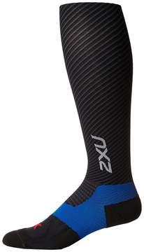 2XU Elite Lite X-Lock Compression Socks Men's Knee High Socks Shoes