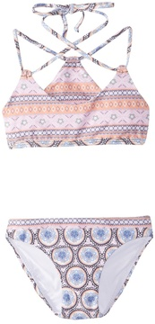 O'Neill Girl's Evie Racerback Top Two Piece Swimsuit (2T6) - 8163126