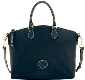 Dooney & Bourke Nylon Satchel - BLACK BLACK - STYLE