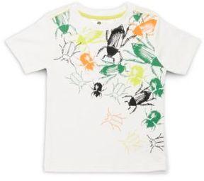 Petit Lem Boy's Bug Print Crewneck T-Shirt