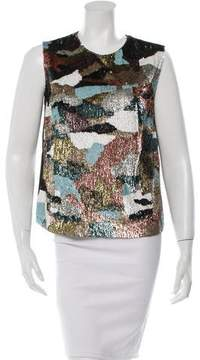 Amen Silk Sequined Top w/ Tags