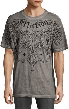 Affliction Men's Cotton Short Sleeve Tee