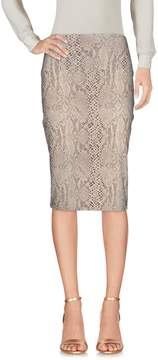 Norma Kamali KAMALIKULTURE by Knee length skirts