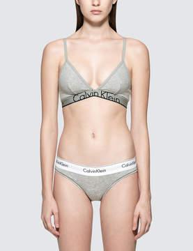 Calvin Klein Underwear Cotton Triangle Bralette