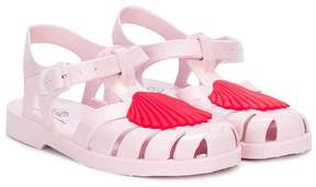 Little Marc Jacobs shell design jelly sandals