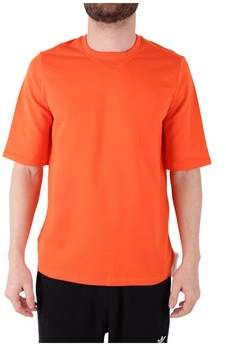 Reebok Men's Orange Cotton T-shirt.