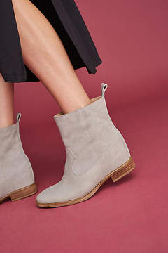 Anthropologie Hidden Wedge Booties