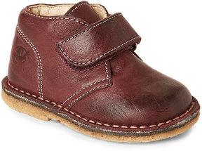 Naturino Toddler/Kids Girls) Bordeaux Nappa Leather Booties
