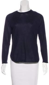Barneys New York Barney's New York Cashmere & Silk-Blend Knit Sweater