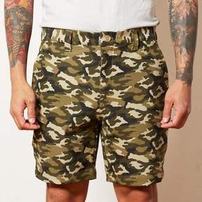 Blade + Blue Camouflage Cotton Stretch Twill Shorts