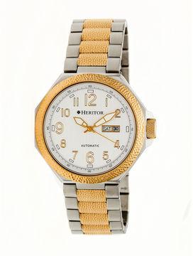 Heritor Spartacus Mens Multicolor Bracelet Watch-Herhr5403