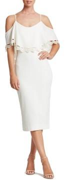 Dress the Population Women's Beth Cold Shoulder Dress