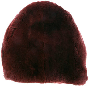 Marni rabbit fur hat