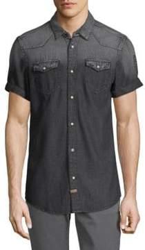 Buffalo David Bitton Sorwood Denim Button-Down Shirt