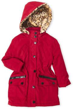 Urban Republic Toddler Girls) Faux Fur Ballistic Anorak Coat