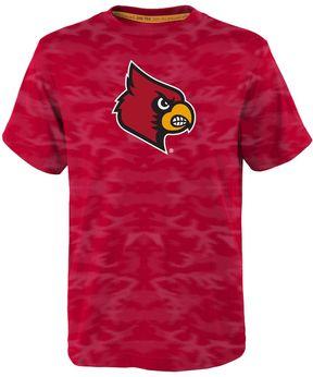 NCAA Boys 4-7 Louisville Cardinals Vector Dri-Tek Tee
