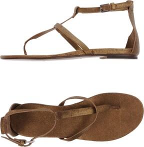 Roberto Del Carlo Toe strap sandals