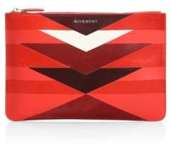 Givenchy Excell Leather and Calf Hair Pouch