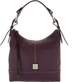 Dooney & Bourke Pebble Leather Hobo Handbag-Gracie - ONE COLOR - STYLE