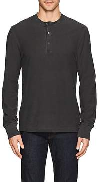 James Perse MEN'S COTTON JERSEY HENLEY