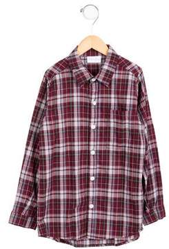 Rachel Riley Girls' Plaid Button-Up Top