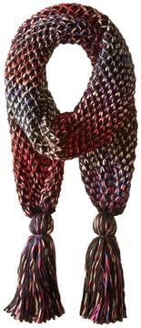 San Diego Hat Company BSS1662 Crochet Knit Oblong Scarf Scarves