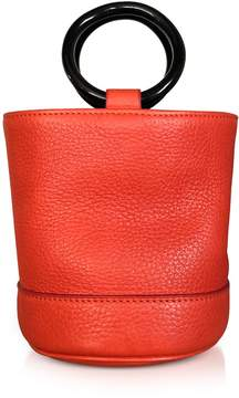 Simon Miller Red Leather Bonsai 15cm Bag