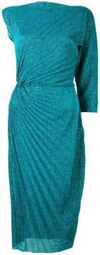 A.F.Vandevorst asymmetric pleated dress